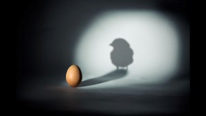 Shadow hatching